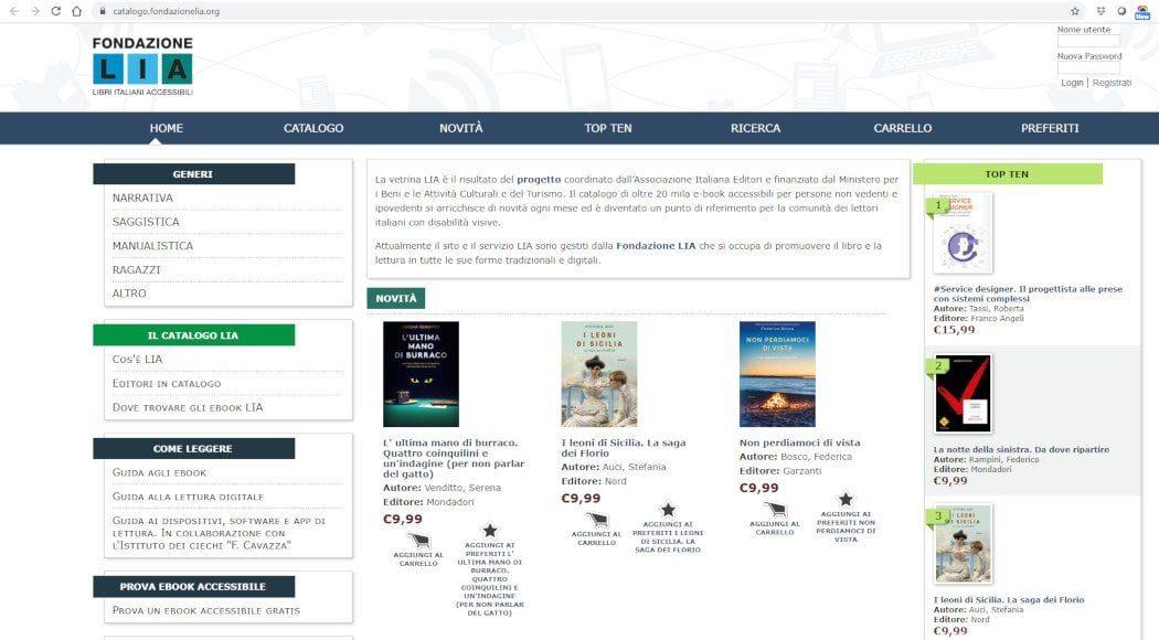 LIA libri italiani accessibili