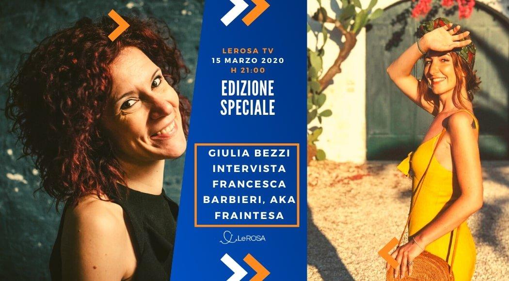 Intervista a Francesca Barbieri, travel blogger di Fraintesa