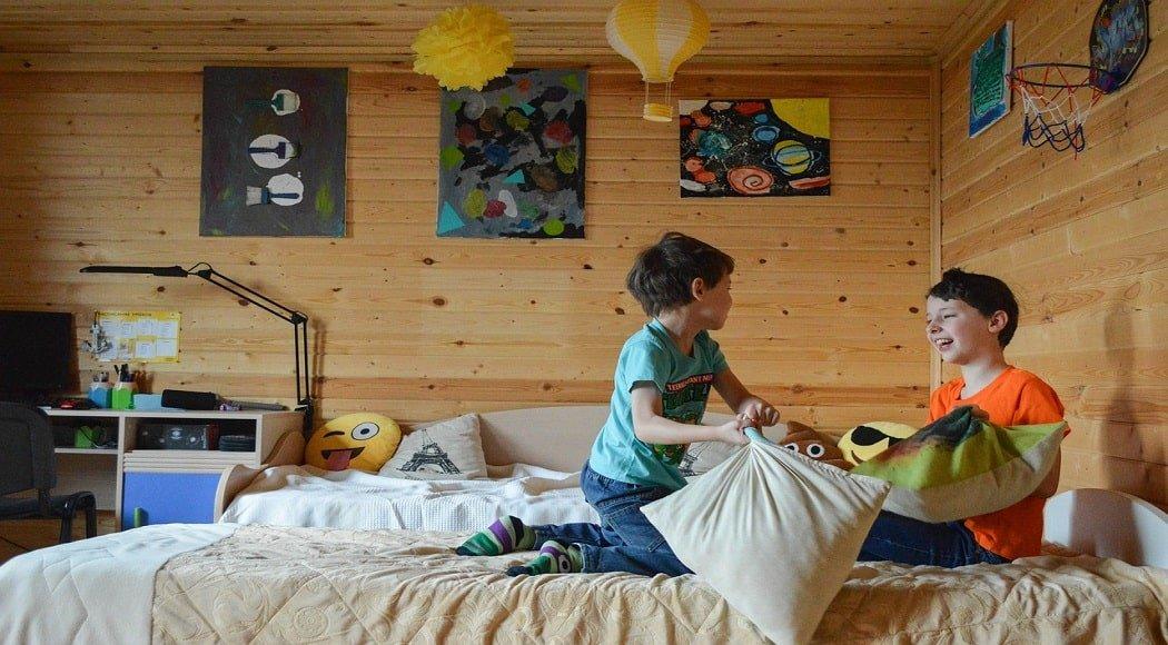 come decorare la camera dei bambini