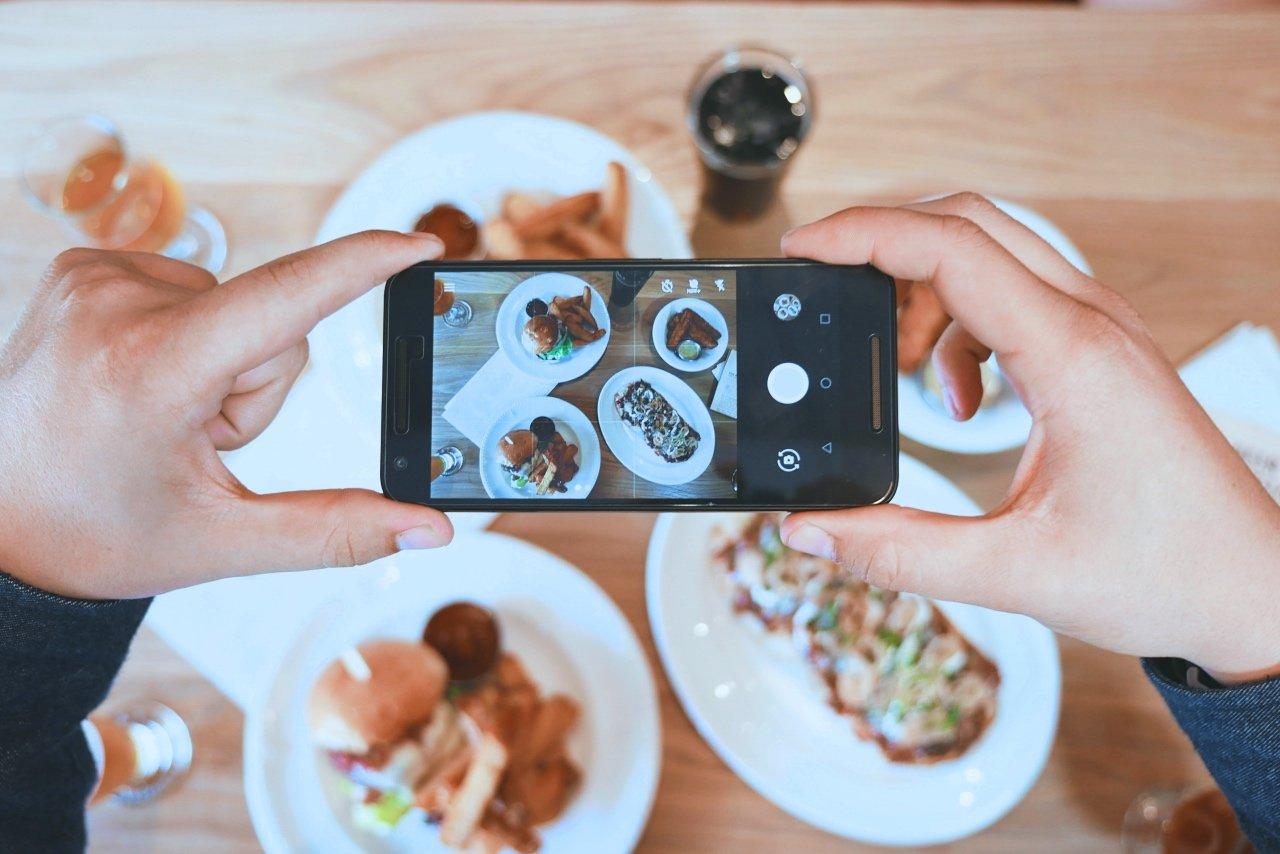 Food Blogger: chi è e cosa fa - foto da smartphone