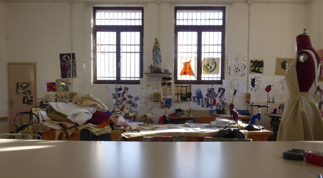 Laboratorio di sartoria del carcere della Giudecca: laboratorio
