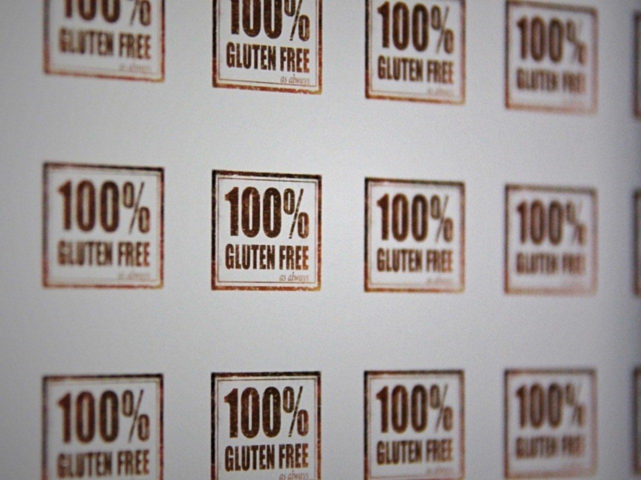 Gluten Free Esperta: chi e cosa fa - foto 100% GlutenFree_Stickers by_StickerGiant_CC_BY_2