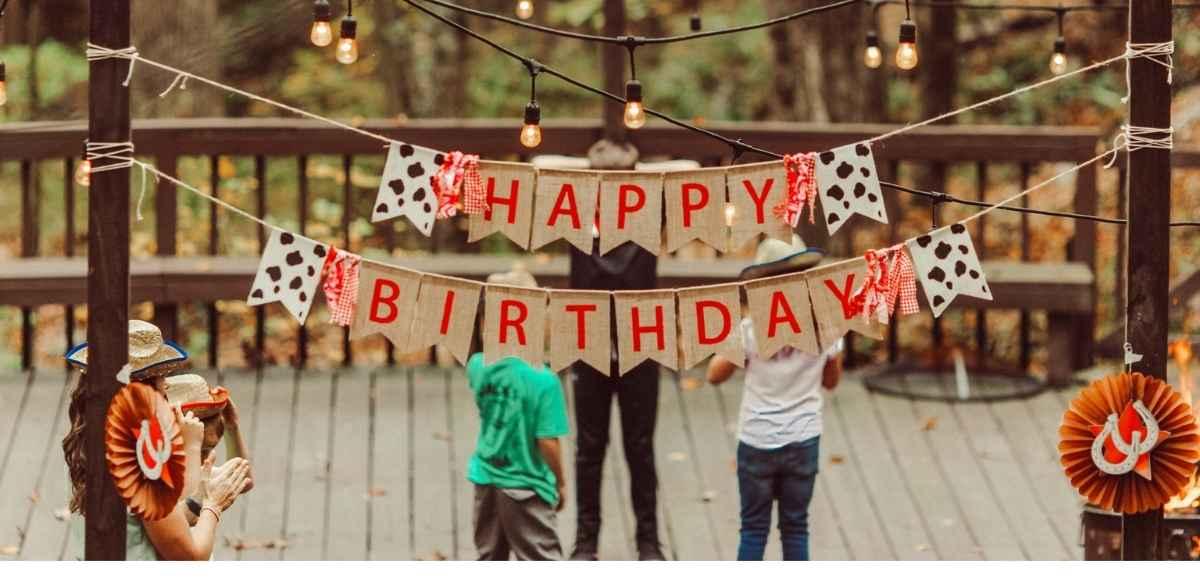 Festa di compleanno con i fiocchi