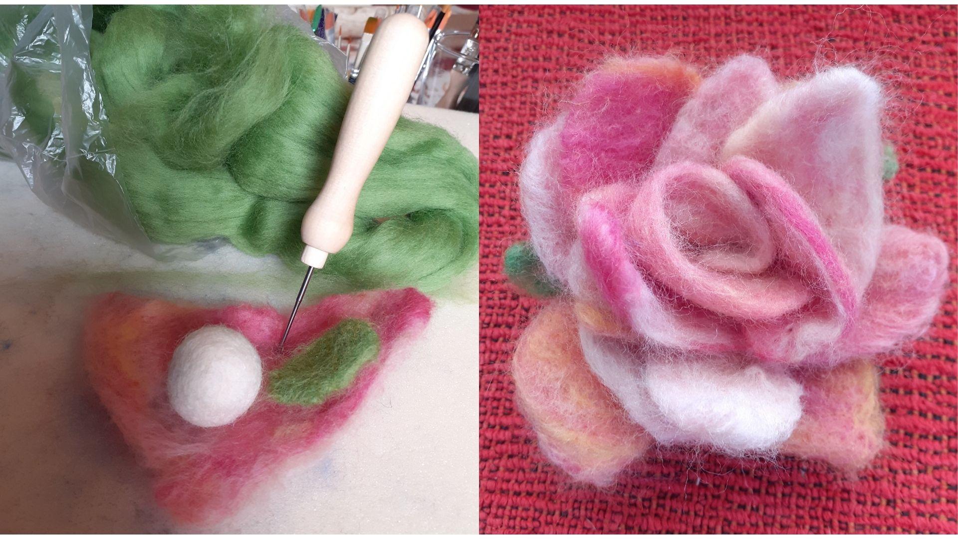 Lavorazione artigianale della lana