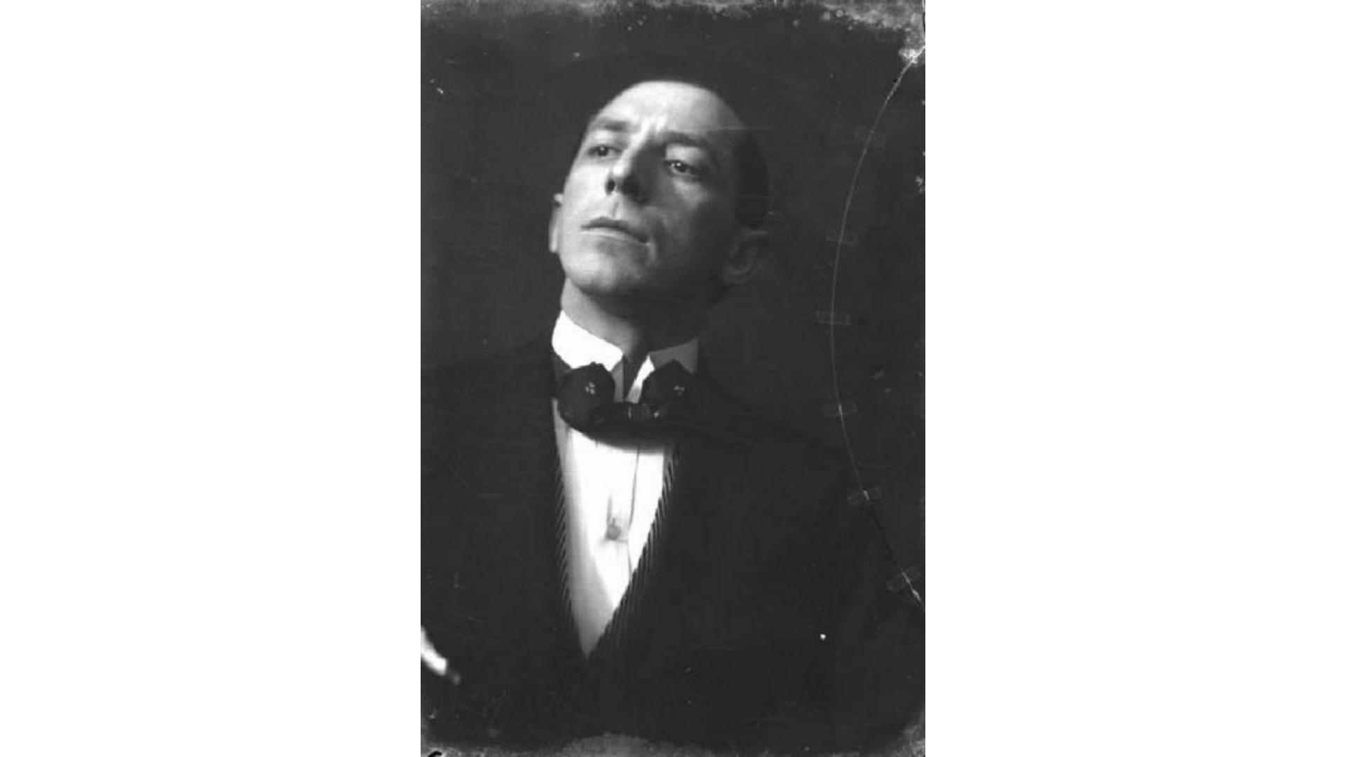 Umberto Boccioni biografia e opere ritratto