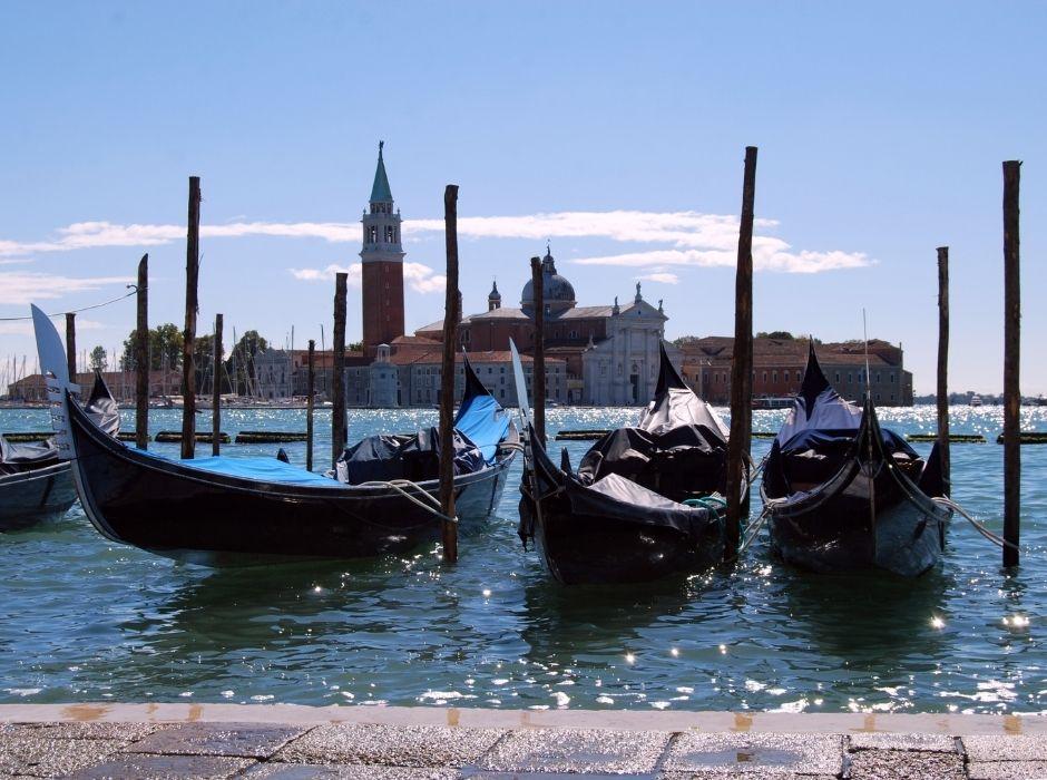 Gondole Piazza San Marco